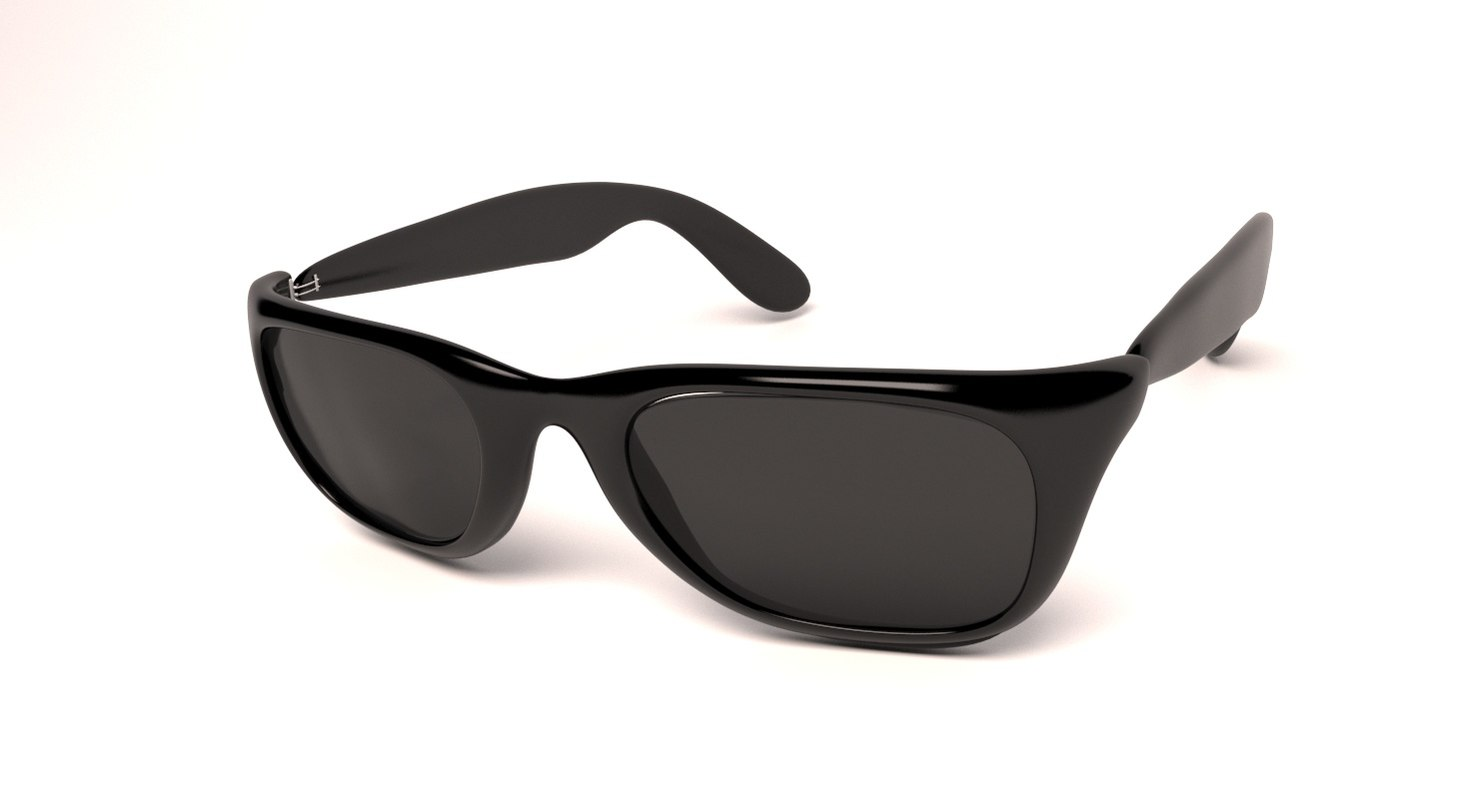 sun glass sunglasses 3d max