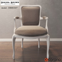 Armchair Dialma Brown