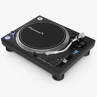 turntable pioneer plx-1000 3d obj