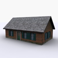 3d dutch home model