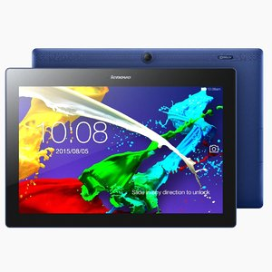 3d tablet lenovo tab 2 model