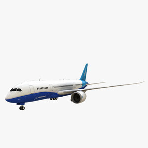 boeing 787-8 dreamliner 3d model