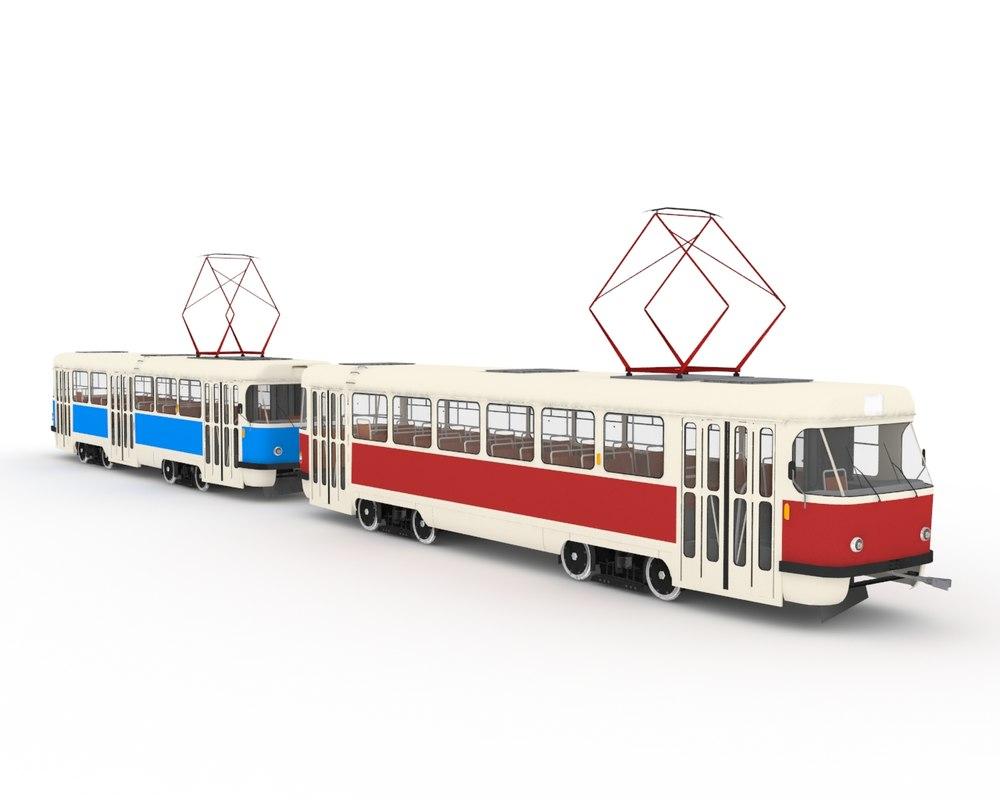 3d t3 tatra model