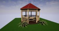 gazebo garden house max