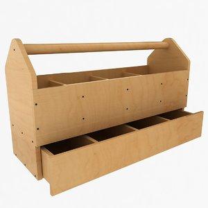 wooden tool box max