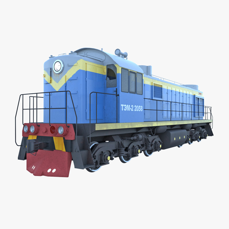 russian diesel locomotive tem-2 max