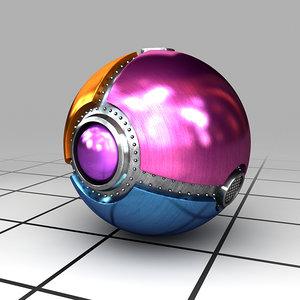 3d model pester ball