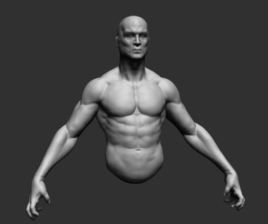Free Man 3D models
