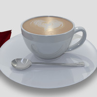 coffee cup fbx