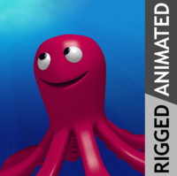 Animated Octopus