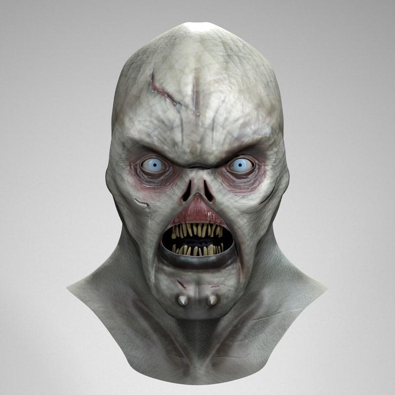 x monster sculpture