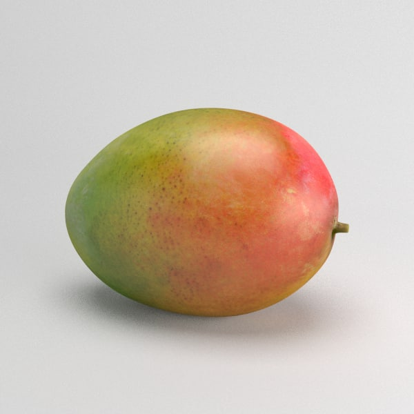 3d model photorealistic mango