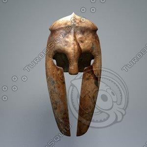 3ds corinthian helmet