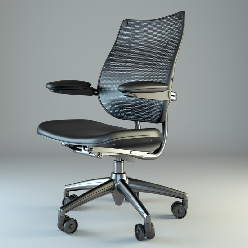 liberty chair office 3d max