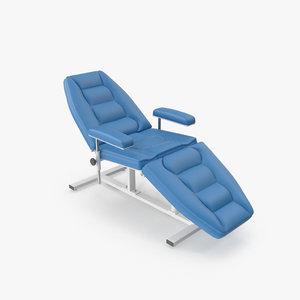 treatment chair cc-04m 3d model
