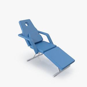 3d model of treatment chair cc-05m