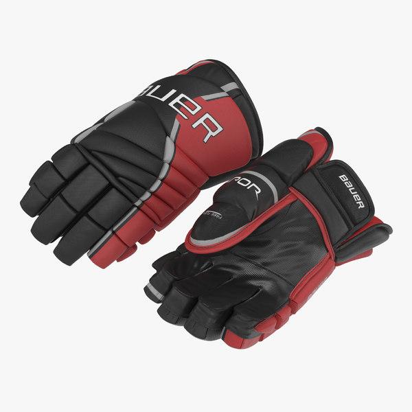 hockey gloves bauer 3 3ds