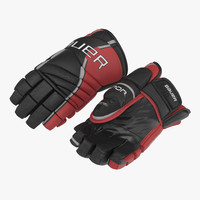 Hockey Gloves Bauer 3