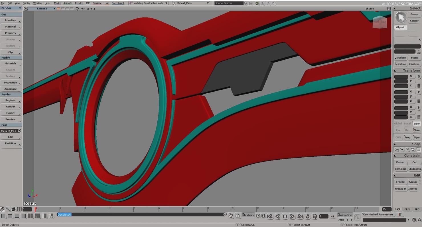 xenoblade sword 3d model