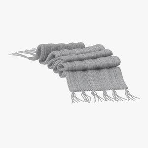 3d model scarf 03