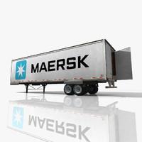 Maersk Truck Trailer