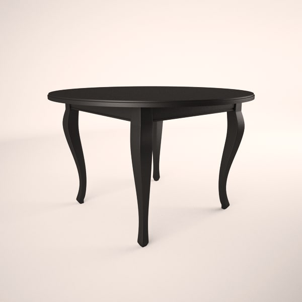 broyhill color cuisine oval table 3d max