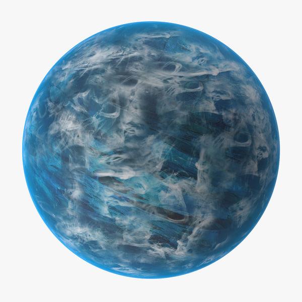 alien planet 02 3d max
