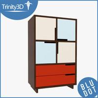 modu-licious dresser square 3d ma
