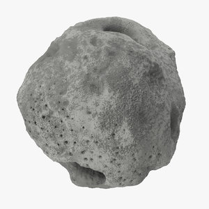 asteroid 02 3d model