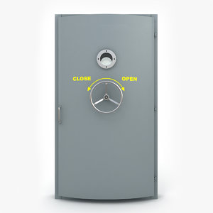 explosion-proof door 02 obj