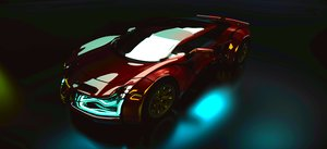 3d model car r