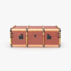 3d steamer trunk