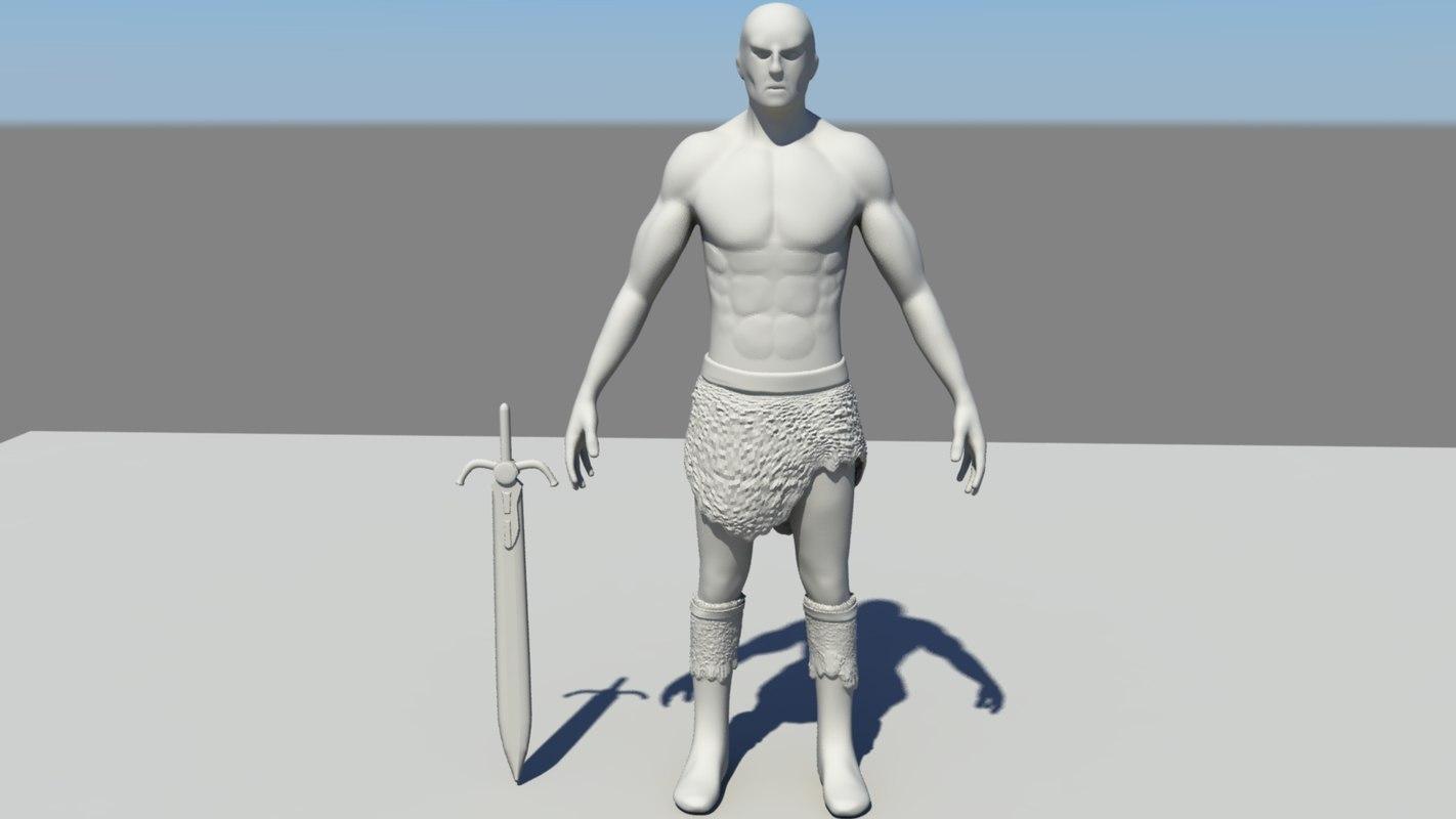 3d goliath grabnar model
