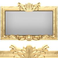 3d classic mirror model