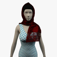 Scarf - High Res (For Women's) 002