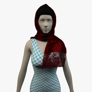 3d scarf - res