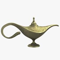 aladdin lamp obj