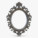 Baroque Picture Frame 6