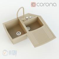 corner washer harmony max
