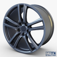 3d style 303 wheel ferric model