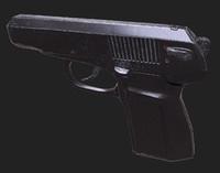 3d makarov pistol