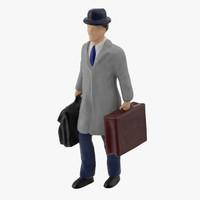 miniture traveller 02 3d model