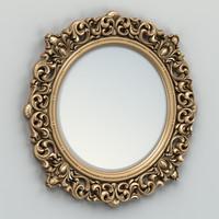 Round mirror frame 001