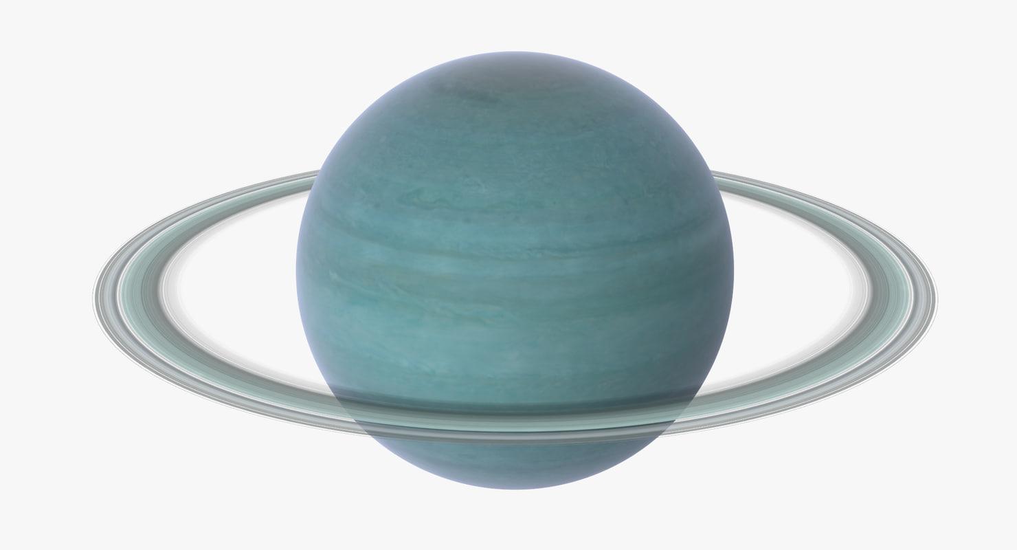 uranus world 3d model