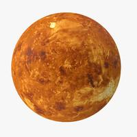 3d venus planet space