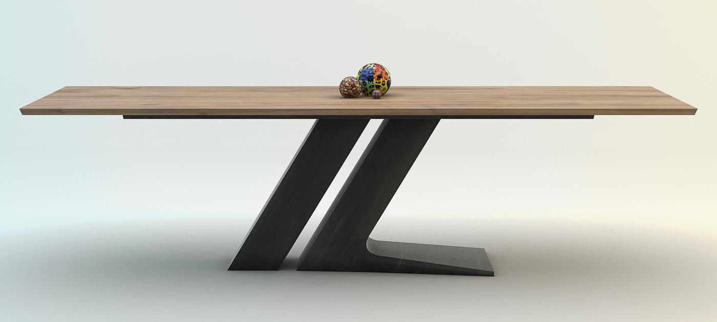 3d model bonaldo table