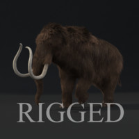 Mammoth rigged