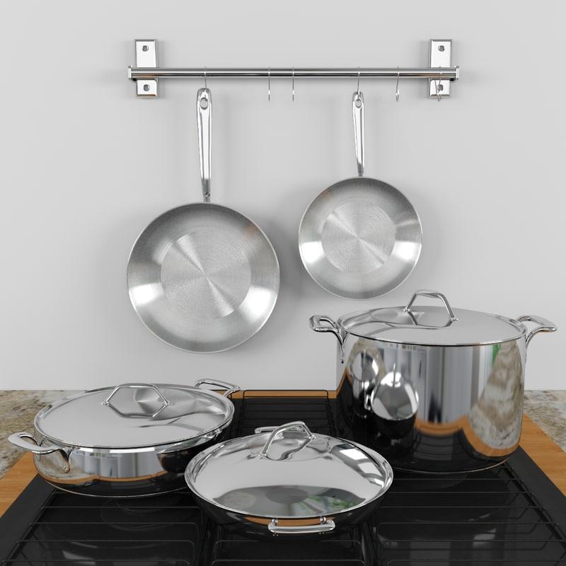 cooktop - 3d max