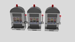 slot machines 3d model