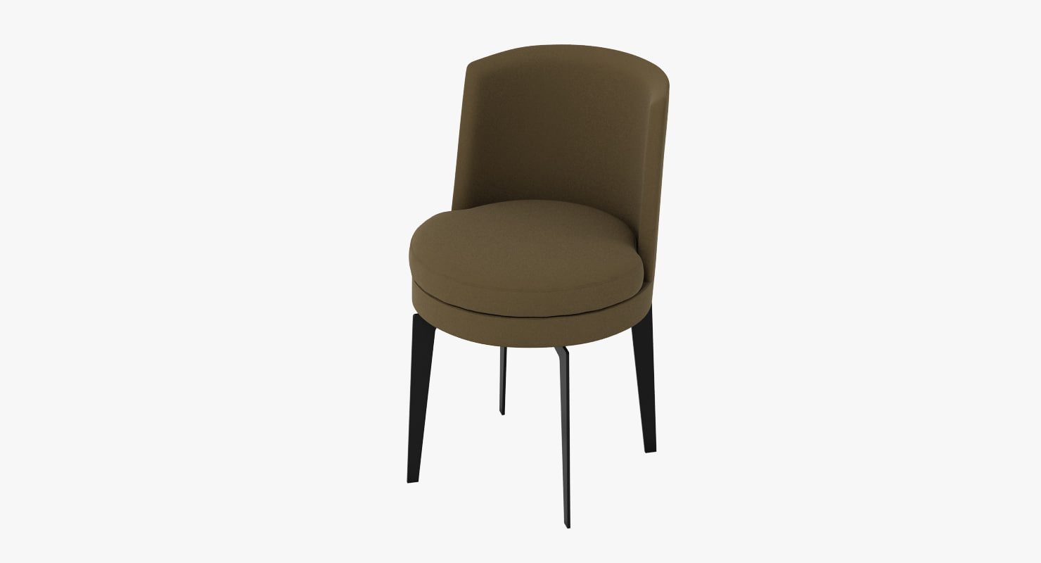 flexform feelgood dining chair 3d model